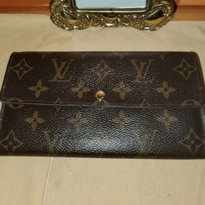 Louis Vuitton Portefeuille Sarah Monogram Wallet💋